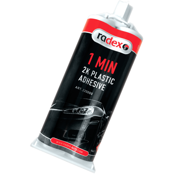 2K PLASTIC STRUCTURAL ADHESIVE 1,5 MIN.