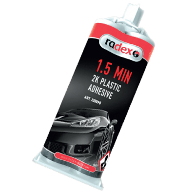 2K PLASTIC STRUCTURAL ADHESIVE 1.5 MIN.